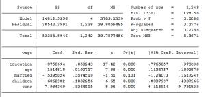hoi quy ols 300x142 - hồi quy lựa chọn mẫu heckman (Heckman selection model)