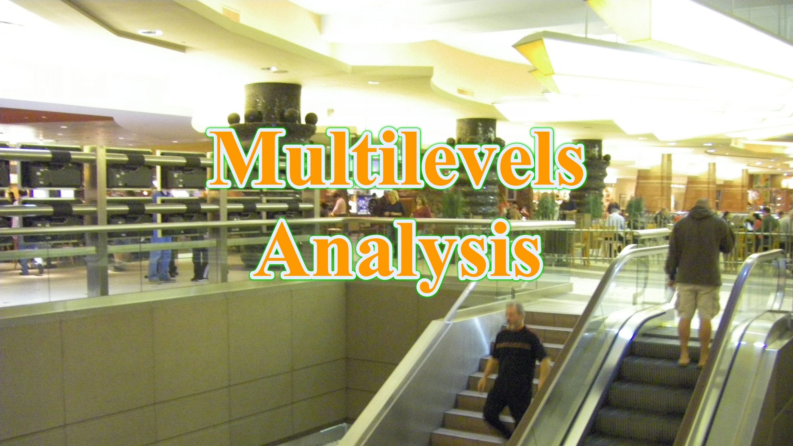 Multilevel analysis scaled - phân tích đa tầng Multilevel Analysis