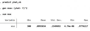 Capture2 300x104 - Cách tính giá trị các chỉ số AIC BIC MAE MAPE MSE RMSE