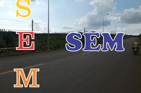 Nhận làm đẹp dữ liệu mô hình SEM – AMOS