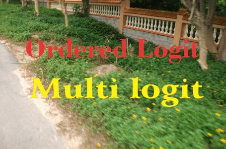 Biến thứ bậc hồi quy Ordered Logit